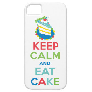 Keep Calm and Eat Cake iphone 5 case