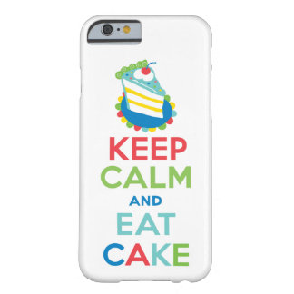 Keep Calm and Eat Cake iPhone 6 case