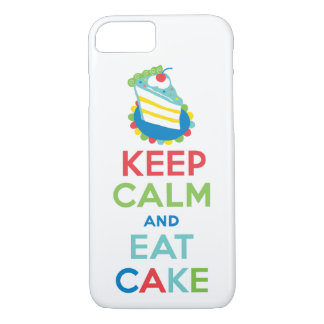 Keep Calm and Eat Cake iPhone 7 case
