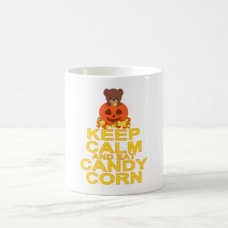 Keep Calm And Eat Candy Corn Coffee Mug
