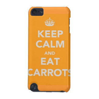 keep calm and eat carrots louis tomlinson iPod cas iPod Touch (5th Generation) Case