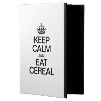 KEEP CALM AND EAT CEREAL COVER FOR iPad AIR