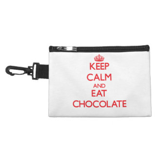 Keep calm and eat Chocolate Accessories Bags
