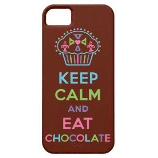 Keep Calm and Eat Chocolate iPhone 5 iPhone SE/5/5s Case