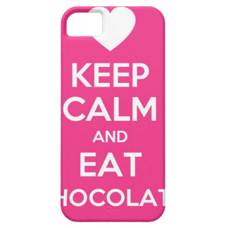 Keep Calm and Eat Chocolate iPhone SE/5/5s Case
