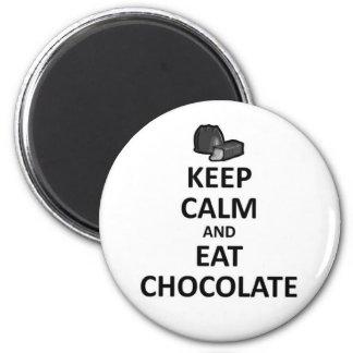 Keep calm and Eat Chocolate.jpg Magnet