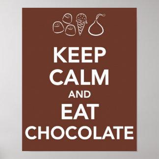 Chocolate Posters | Zazzle