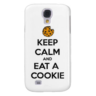 keep calm and eat cookie cookies chocolate chips j samsung galaxy s4 cover