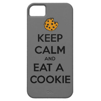 keep calm and eat cookie cookies chocolate chips j iPhone 5/5S cover