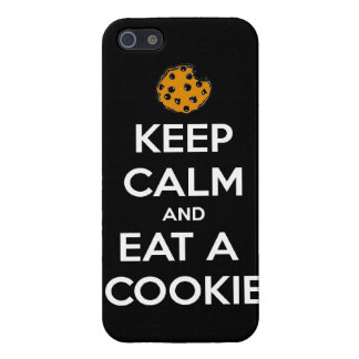 keep calm and eat cookie cookies chocolate chips j iPhone 5/5S cases