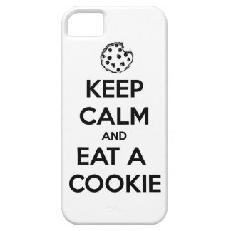 keep calm and eat cookie cookies chocolate chips j iPhone SE/5/5s case