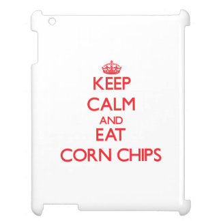 Keep calm and eat Corn Chips Case For The iPad
