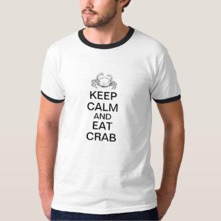 Keep Calm and Eat Crab Shirt