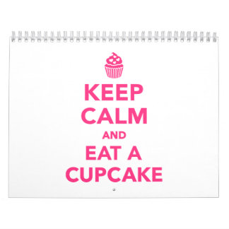 Keep calm and eat Cupcake Calendar