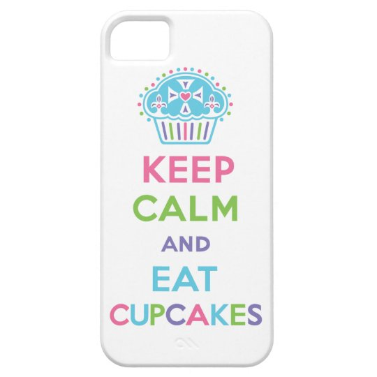 Keep Calm and Eat Cupcakes 1 pastel iPhone 5 iPhone SE/5/5s Case