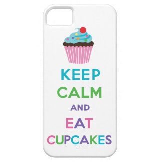 Keep Calm and Eat Cupcakes 2 iPhone 5 iPhone 5 Cover