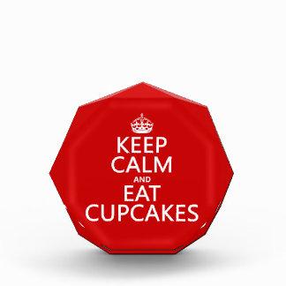 Keep Calm and Eat Cupcakes Award