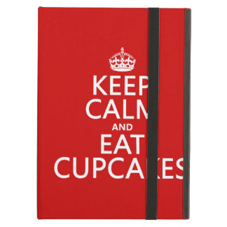 Keep Calm and Eat Cupcakes Case For iPad Air