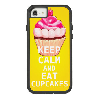 KEEP CALM AND Eat Cupcakes Case-Mate Tough Extreme iPhone 8/7 Case