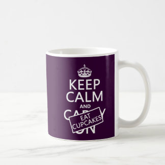 Keep Calm and Eat Cupcakes Coffee Mug