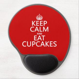 Keep Calm and Eat Cupcakes Gel Mouse Mats