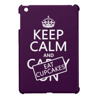 Keep Calm and Eat Cupcakes iPad Mini Cover