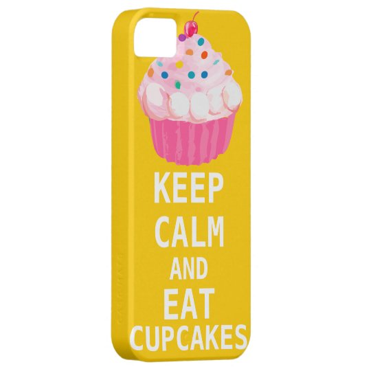 KEEP CALM AND Eat Cupcakes iPhone SE/5/5s Case