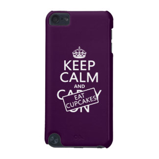 Keep Calm and Eat Cupcakes iPod Touch 5G Case