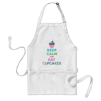 Keep Calm and Eat Cupcakes ll Aprons