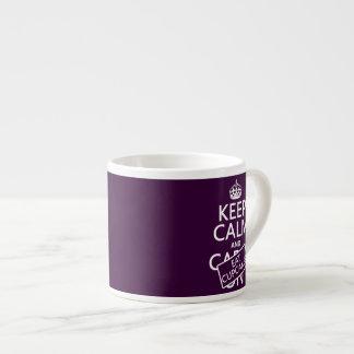 Keep Calm and Eat Cupcakes 6 Oz Ceramic Espresso Cup
