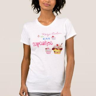 Keep Calm and eat Cupcakes Tanktop