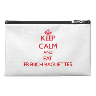 Keep calm and eat French Baguettes Travel Accessories Bag