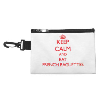 Keep calm and eat French Baguettes Accessories Bag
