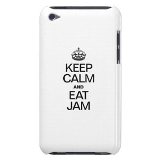 KEEP CALM AND EAT JAM BARELY THERE iPod COVERS