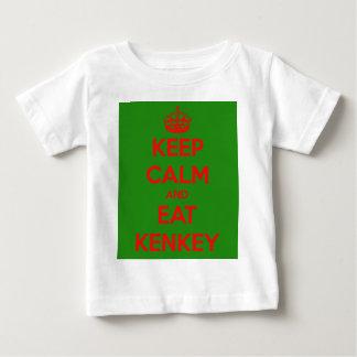 keep calm and eat kenkey tshirt
