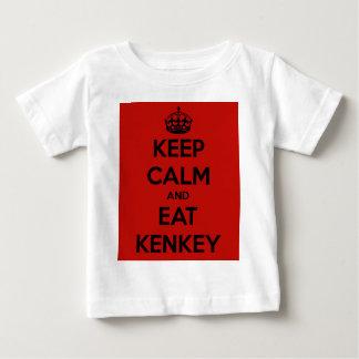 keep calm and eat kenkey t-shirts