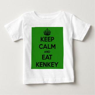 keep calm and eat kenkey t shirt