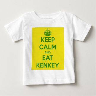 keep calm and eat kenkey shirt
