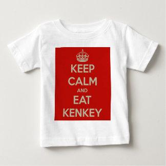 keep-calm-and-eat-kenkey infant t-shirt