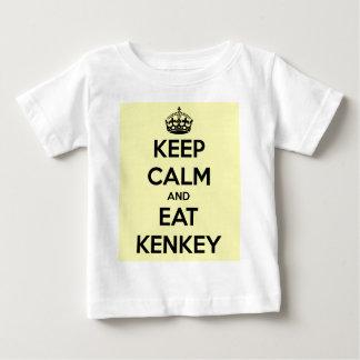 keep calm and eat kenkey tee shirts