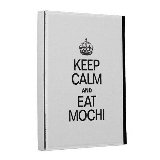 KEEP CALM AND EAT MOCHI iPad CASE