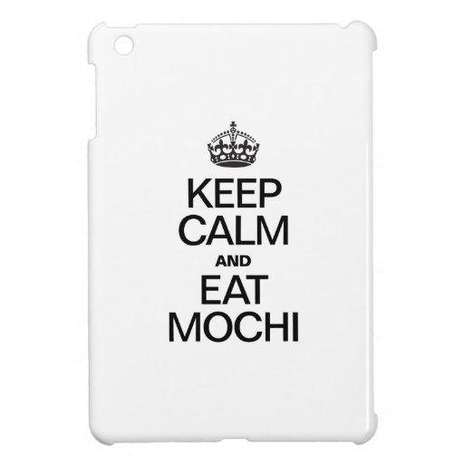 KEEP CALM AND EAT MOCHI COVER FOR THE iPad MINI