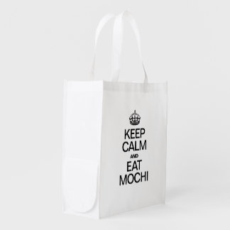 KEEP CALM AND EAT MOCHI MARKET TOTE