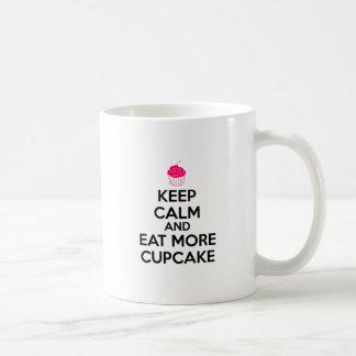Keep Calm And Eat More Cupcake Coffee Mug