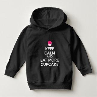 Keep Calm And Eat More Cupcake Hoodie