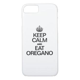 KEEP CALM AND EAT OREGANO iPhone 8/7 CASE
