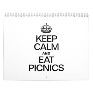 KEEP CALM AND EAT PICNICS CALENDAR