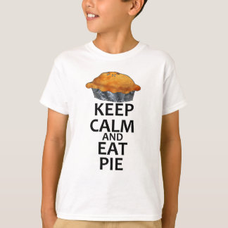 Keep Calm and Eat Pie T-Shirt
