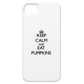 Keep calm and eat Pumpkins iPhone 5 Covers