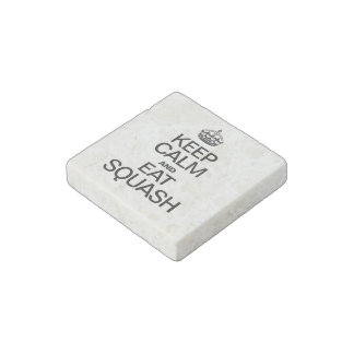 KEEP CALM AND EAT SQUASH STONE MAGNET
